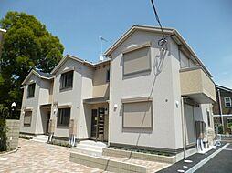東京都青梅市長淵2丁目の賃貸アパートの外観