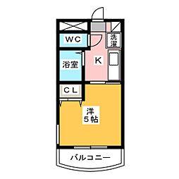 ニュー高貴[2階]の間取り