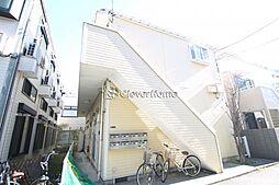神奈川県大和市中央林間6の賃貸アパートの外観