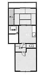 Mステージ保土ヶ谷 404号室[4階]の間取り