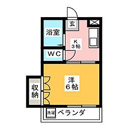 サンハイツ伊藤[2階]の間取り