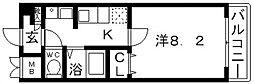 聖和マンション弐番館[604号室号室]の間取り