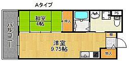 サンロワール和泉砂川[5階]の間取り