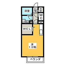 パストラルドミール[2階]の間取り