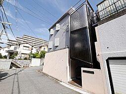 兵庫県神戸市北区山田町小部字南山の賃貸マンションの外観