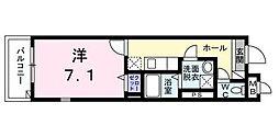 東京都板橋区中丸町の賃貸マンションの間取り