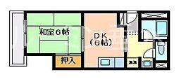 メゾン舞子ショアー[2階]の間取り