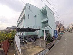 兵庫県伊丹市荻野6丁目の賃貸マンションの外観