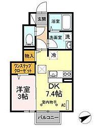 グレード VI[1階]の間取り