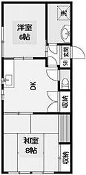 メゾン千代田[3階]の間取り
