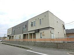 愛知県北名古屋市北野五反畑の賃貸アパートの外観