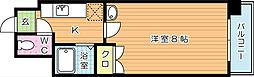 SKCity八幡 (エスケイシティ八幡)[4階]の間取り