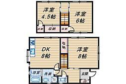 [一戸建] 大阪府豊中市柴原町3丁目 の賃貸【/】の間取り