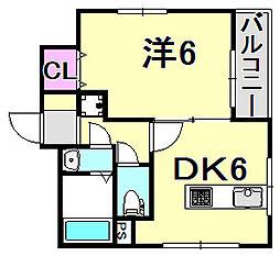 N.Iビル[3階]の間取り