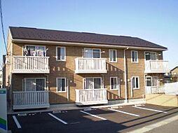 富山県富山市中間島1丁目の賃貸アパートの外観