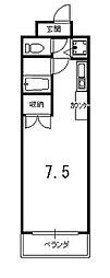HAKUHO[4階]の間取り
