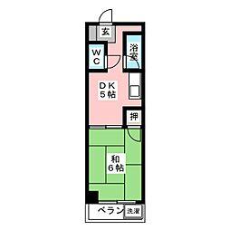 太慶レジデンス[1階]の間取り