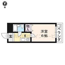 辻本マンション[305号室]の間取り