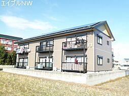 三重県松阪市中央町の賃貸アパートの外観