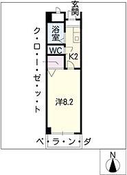 コバヤシビル[3階]の間取り
