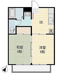 YAMAZAKI3[2階]の間取り