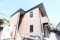 東京都調布市深大寺南町2丁目の賃貸アパートの外観