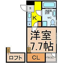 インフィニティ今池(インフィニティイマイケ)[4階]の間取り