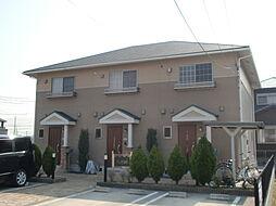 愛知県名古屋市中川区戸田西1丁目の賃貸アパートの外観