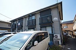 千葉県習志野市藤崎2の賃貸アパートの外観