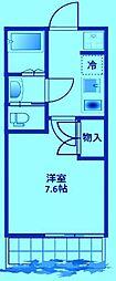 コート溝の口II[1階]の間取り