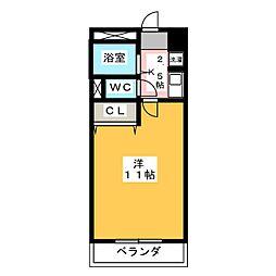 クレオメ[2階]の間取り