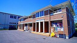 埼玉県熊谷市柴の賃貸アパートの外観