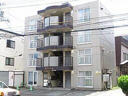 北海道札幌市北区北三十条西3丁目の賃貸アパートの外観