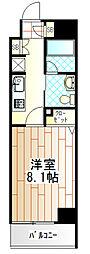 神奈川県相模原市中央区淵野辺4丁目の賃貸マンションの間取り