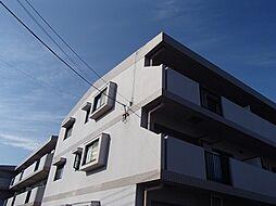 埼玉県越谷市大沢の賃貸マンションの外観