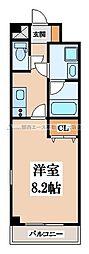 SA-COURT(エスアコート)[6階]の間取り