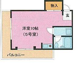 埼玉県さいたま市南区大谷場1丁目の賃貸マンションの間取り