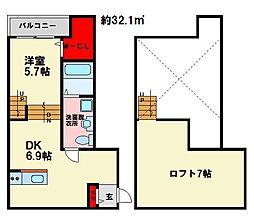 プレシャス[2階]の間取り
