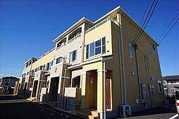 愛知県豊川市伊奈町佐脇原の賃貸アパートの外観