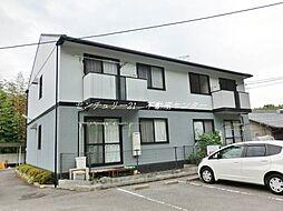 岡山県岡山市中区今谷の賃貸アパートの外観