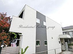 神奈川県藤沢市弥勒寺1丁目の賃貸アパートの外観