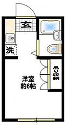 エンゼル西生田A棟[2階]の間取り