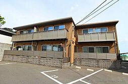 福岡県北九州市八幡東区清田4丁目の賃貸アパートの外観