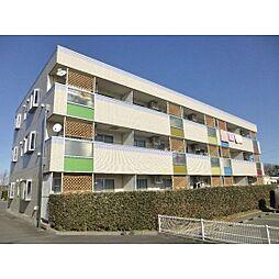 茨城県かすみがうら市下稲吉の賃貸マンションの外観