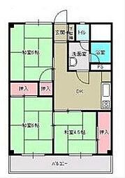 福寿コーポラス[3階]の間取り