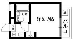 ハイツ甲東パートII[1005号室]の間取り