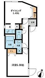 Branche新中野[2階]の間取り