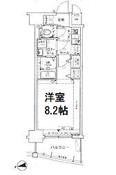 サムティ中之島WEST[2階]の間取り
