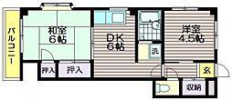 高山木材本社ビル[2階]の間取り