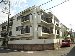 京都府京都市左京区高野上竹屋町の賃貸マンションの外観